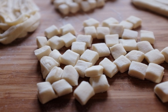 chinese gnocchi 猫耳朵